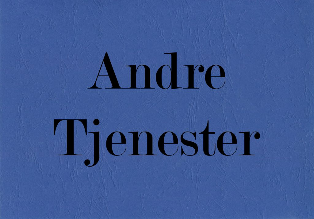 <br />Andre tjenester&#8221;></p> <h5 class=
